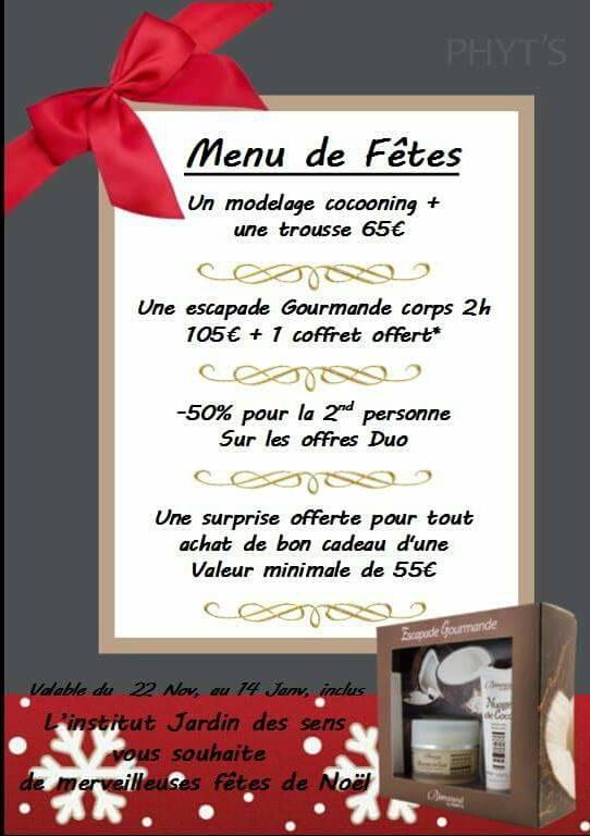 Un Bon Menu De Noel.Offres Promotions Pour Un Noel Tout En Beaute Jardin
